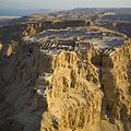 Mountain top fortress of Masada.jpg