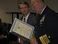 Mr. David Norquist, DHS-CFO, received a Distinguished Public Service Award from the USCG. (3116604459).jpg