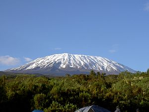 Mount Kilimanjaro, reached by German missionar...