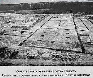Roman fort, Mušov - Fortress praetorium