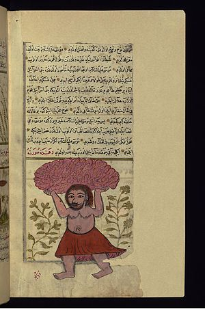 Og - The Demon 'Uj ibn 'Unuq Carries a Mountain with which to Kill Moses and His Men
