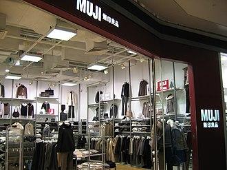 Shopping in Hong Kong - Muji store in Hong Kong