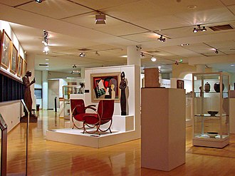 Musée des Années Trente - Interior view of the Museum (2009)