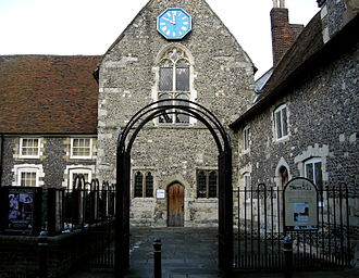 Canterbury Heritage Museum - Museum frontage