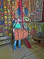 Muurschilderingen in een kerk aan het Tanameer in Ethiopië (6821423417).jpg