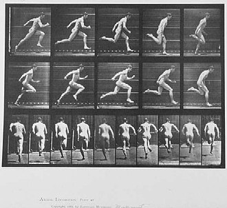 Running - Eadweard Muybridge photo sequence