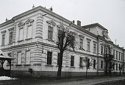 The Suceava County Prefecture building from the interwar period (now the History Museum in Suceava)