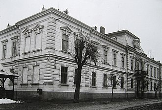 Suceava County - The Suceava County Prefecture building from the interwar period (now the History Museum in Suceava)