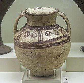 Minyan ware - Amphora, MHIII, c. 1700-1600 BC