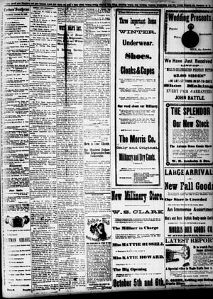 "Wilmington insurrection of 1898 - Newspaper article on the insurrection, titled ""White Man's Day"""
