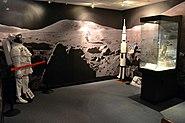 NASA Ames Visitor Center Moon Rock Exhibition