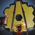 NASA Completes Webb Telescope Center of Curvature Pre-test (30645694521).jpg