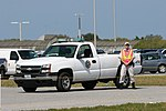 NASA Police Chevy on Alert During STS-133.jpg