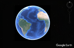 NASA World Wind - Google Earth bar.png