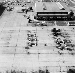 Naval Air Station Jacksonville - Naval Air Reserve Training Unit hangar 113 in 1958