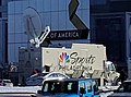NBC Sports Philadelphia broadcasting van at Mall of America for Super Bowl LII.jpg