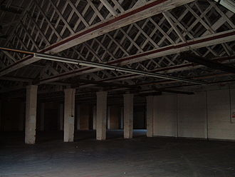 RAF West Ruislip - Interior of Shed No. 1