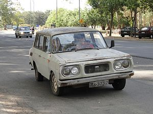 NSU Motorenwerke - 1970 NSU P10, made by Nordex S.A. in Uruguay
