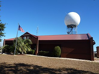 Mobile Regional Airport - NWS Forecast Office just off Airport Road
