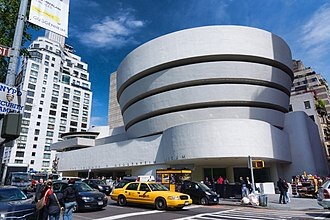 Solomon R. Guggenheim Museum - View from Fifth Avenue