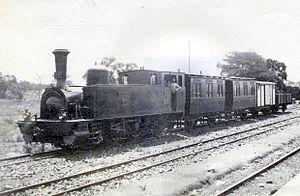 NZASM 40 Tonner 0-6-2T - 40 Tonner no. 50 S.W. Burger, Komatipoort, c. 1895