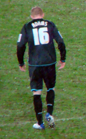 Nicky Adams - Adams playing for Leicester City in 2010