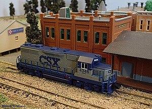 Model of the CSXT4346.