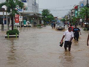 Fiji Meteorological Service - Image: Nadi town