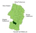 Nagai in Yamagata Prefecture.png