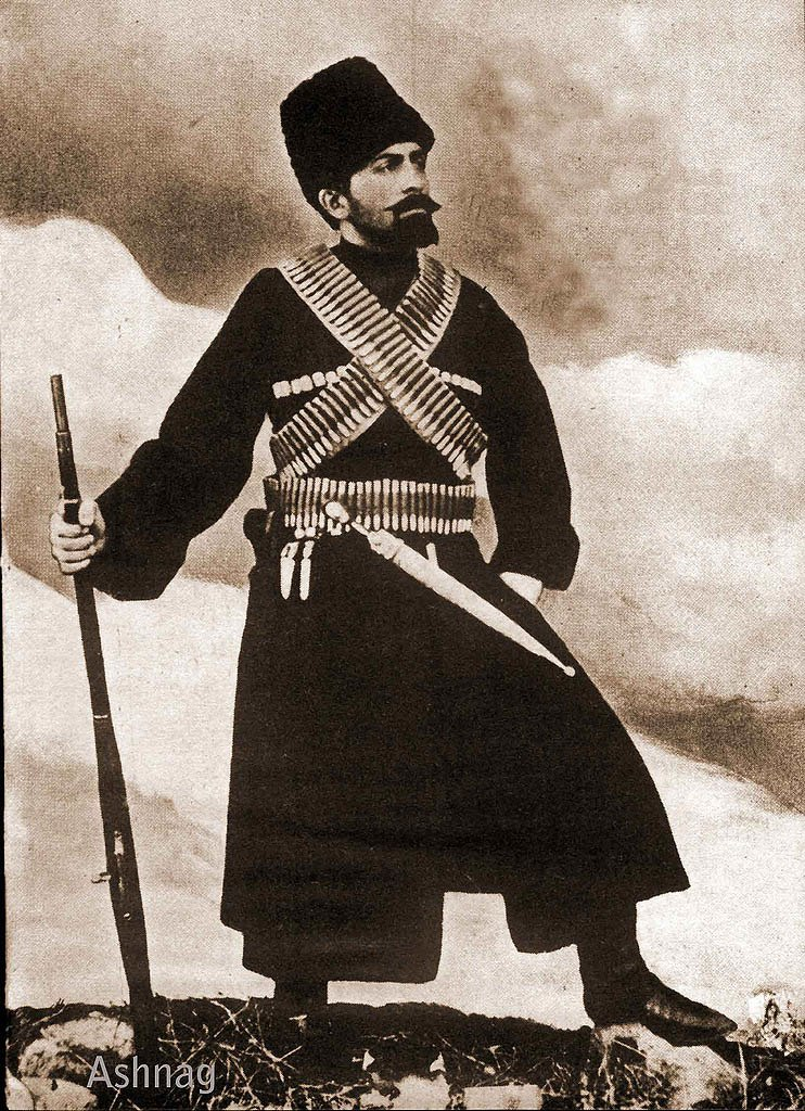 Nagorno Karabakh guerilla fighter Grigor Tumiants, early 20th century