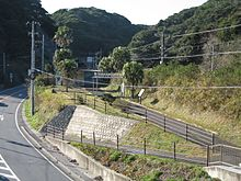 Namegawa-island-station-from-crossoverbridge.jpg