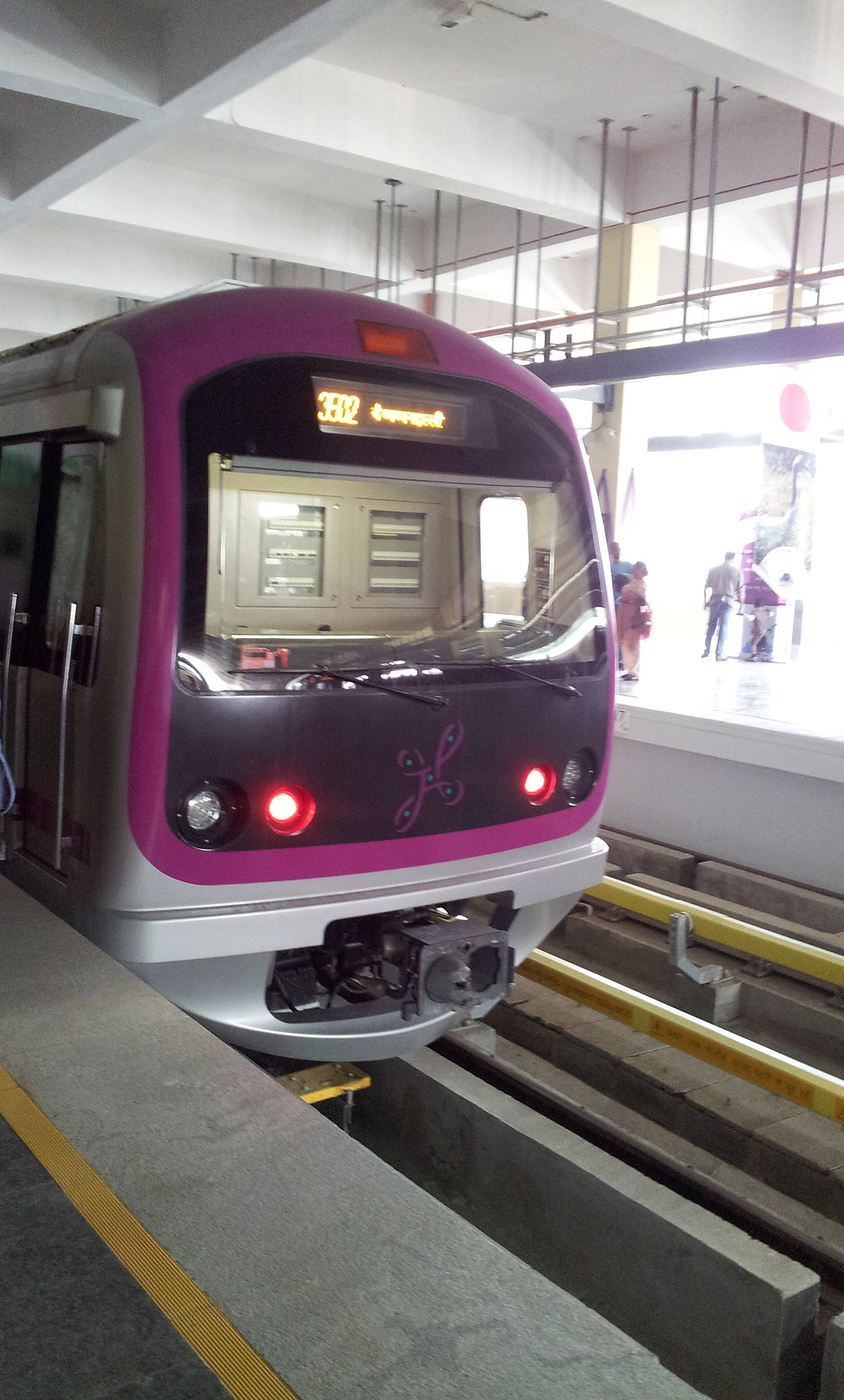 Purple Line Namma Metro Wikipedia