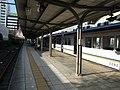 Nankai Shiomibashi Station platform - panoramio (13).jpg