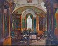 Napoleon a l'interieure de la bibliothèque de la Malmaison.jpg