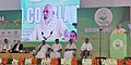 Narendra Modi addressing at the Global Ayurveda Festival, in Kozhikode, Kerala. The Governor of Kerala, Justice (Retd.) P. Sathasivam, the Chief Minister of Kerala, Shri Oommen Chandy.jpg