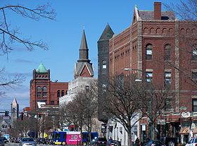 Main Street in downtown Nashua