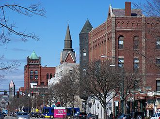 Nashua, New Hampshire - Image: Nashua NH Main Street 50