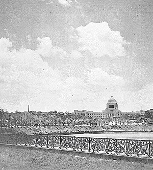 Shōwa period - Image: National Diet in 1930s