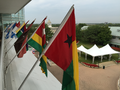 National flags at Arlington International Racecourse, Chicago, Illinois.png