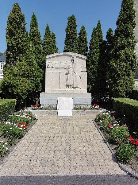 Nauroy (Aisne) monument aux morts