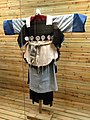 Naxi woman woolen dress - Yunnan Nationalities Museum - DSC04231.JPG