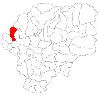 Negrilești, Bistrița-Năsăud Commune in Bistrița-Năsăud, Romania