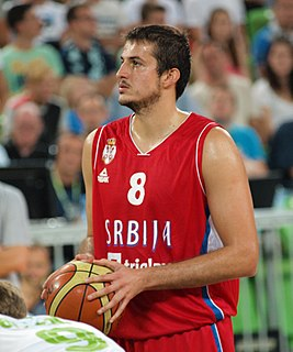 Serbian professional basketball player