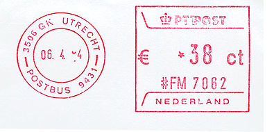 Netherlands stamp type P1.jpg