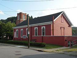 Former New Philadelphia Society church, founded and led by Bernhard Müller from 1832 to 1833