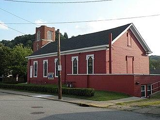 Monaca, Pennsylvania - Historic New Philadelphia Society church