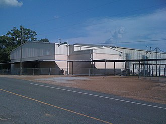Hornbeck, Louisiana - Image: New Gym HHS 001