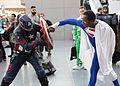 New York Comic Con 2016 - Cap vs Superman (29868262830).jpg