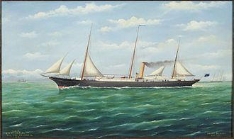 NZGSS Hinemoa - Image: New Zealand, Government Service Steamer 'Hinemoa' (1)