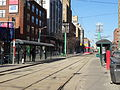 New streetcar 4404 heading south on Spadina, near King, 2014 12 20 (12) (15453150403).jpg